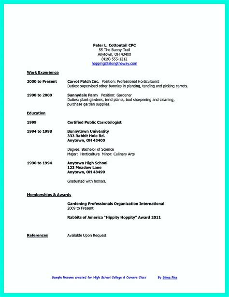 college student resume job instantly