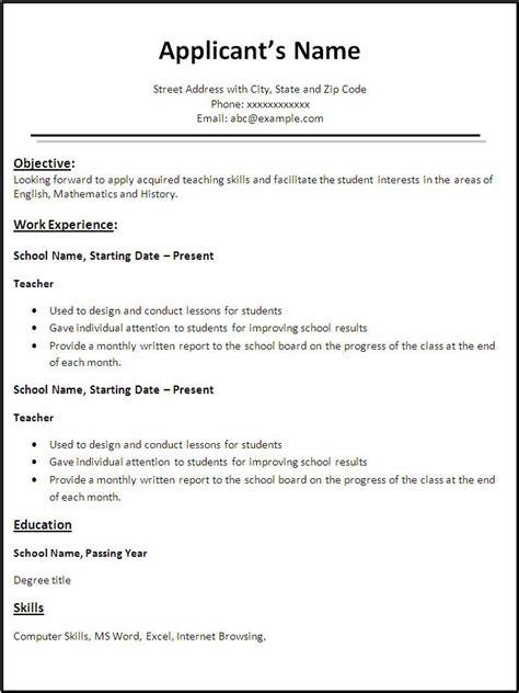 resume templates word free download http jobresumesle 700