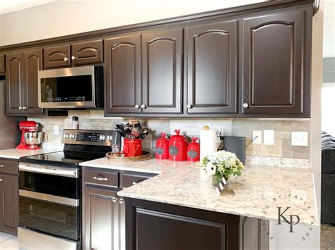 dark brown cabinets espresso cabinets espresso painted kitchen