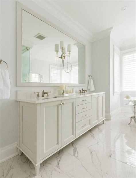 master bathroom full wall mirror design ideas
