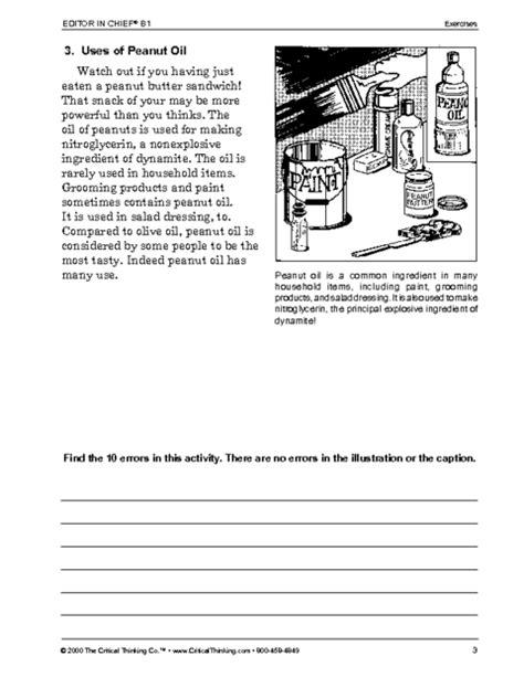 critical thinking worksheet grades 6 8 editor chief