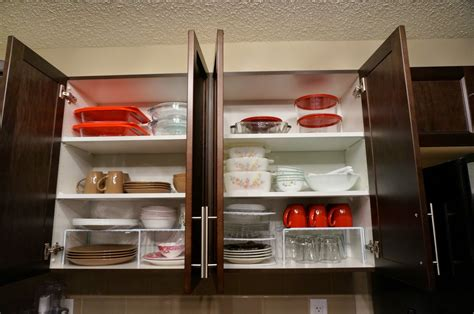 love cozy homes organize kitchen cabinet shelves