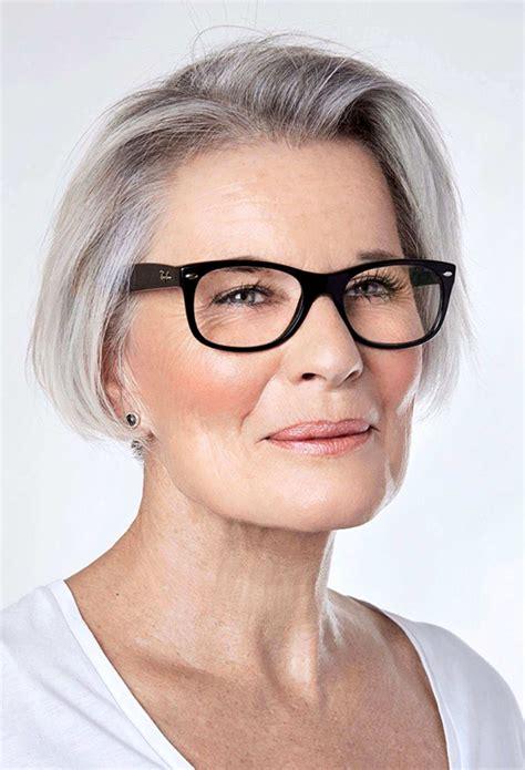 70 hairstyles women 50 glasses