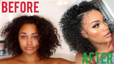 wash style routine curly hair routine youtube