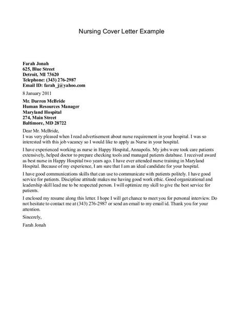 cover letter templates nursing resumes http resumecareerfo cover