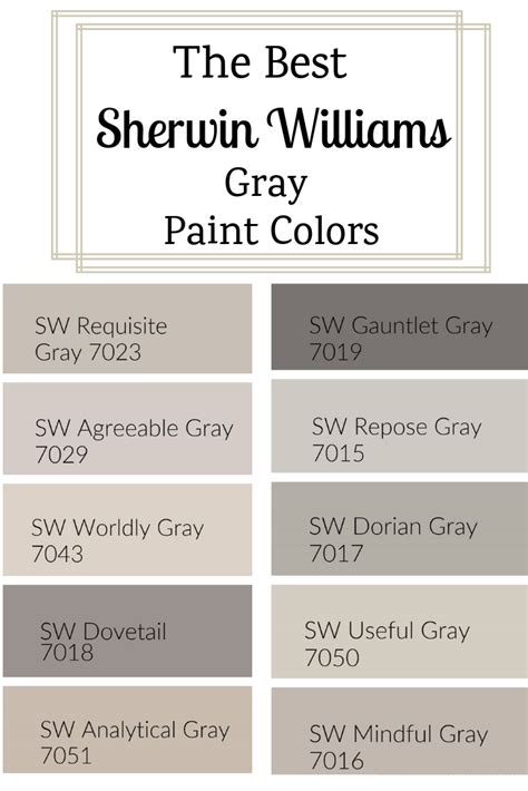 sherwin williams gray paint colors sherwin williams paint