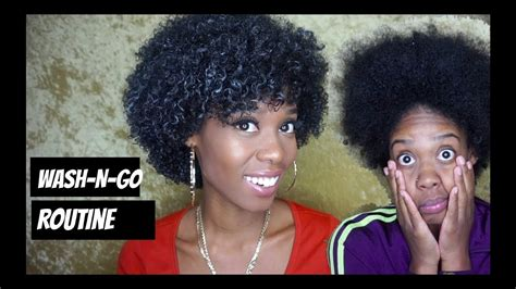 wash routine natural hair youtube