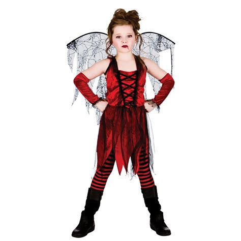 girls vire fairy halloween costume fancy dress childrens
