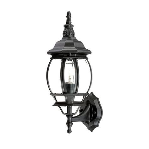 chateau collection wall mount 1 light outdoor matte