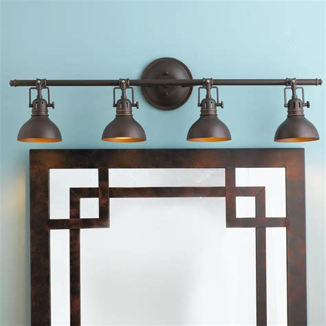 pullman bath light 4 light 2 finishes chic