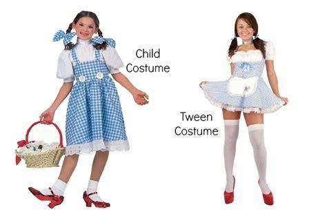 proof tween girl halloween costumes sexed huffpost life