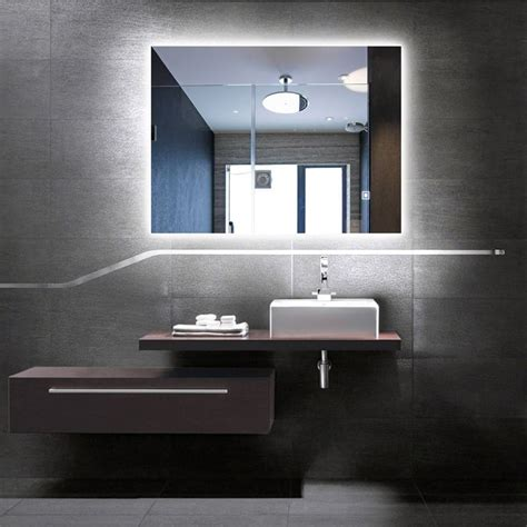 10 modern led mirrors totally change bathroom