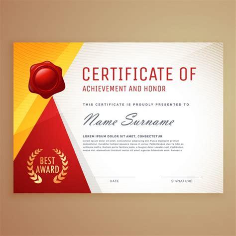 moderne sjabloon certificaat van echtheid design gratis vector
