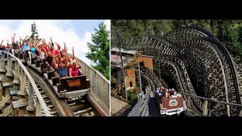 wild waves theme park thrill rides youtube
