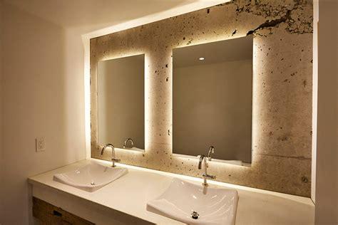 8 reasons backlit mirror bathroom contemporist