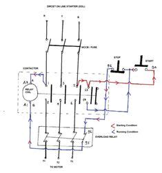 phase contactor wiring diagram electrical info pics stop