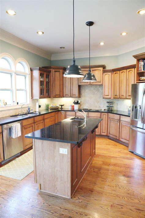 inspiring kitchen paint colors ideas oak cabinet 24