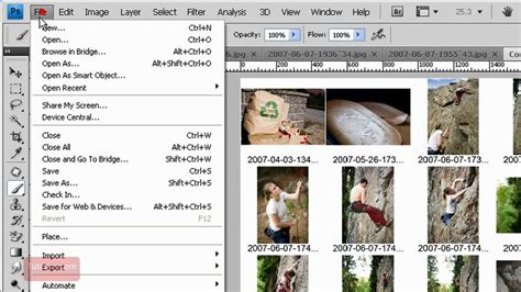 create contact sheet adobe photoshop 60 seconds youtube