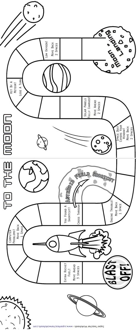 students blast learning facts solar system board game