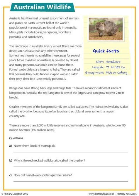 Free Year 3 Comprehension Worksheets Australia.html