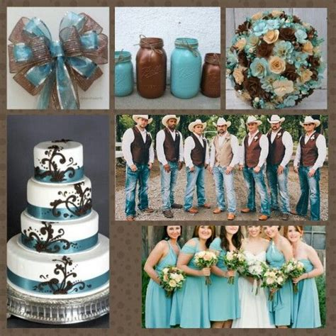 blue brown country wedding images blue wedding bouquet