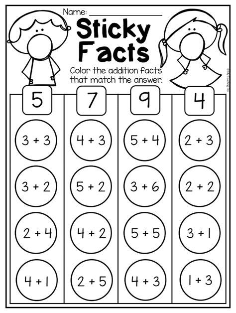 kindergarten addition subtraction worksheets 10 distance learning kindergarten