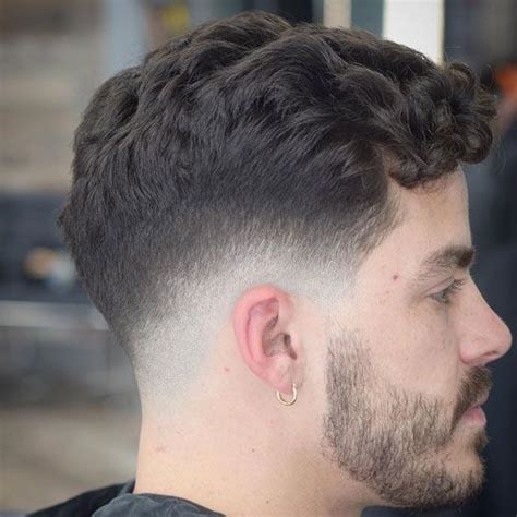 35 men fade haircuts 2019 curly hairstyles men