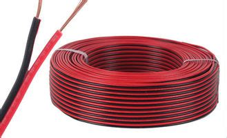 red black copper electric wire cable parallel spt