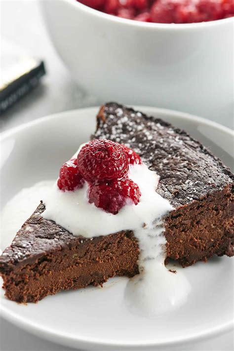 vegan flourless chocolate cake recipe easy gluten free