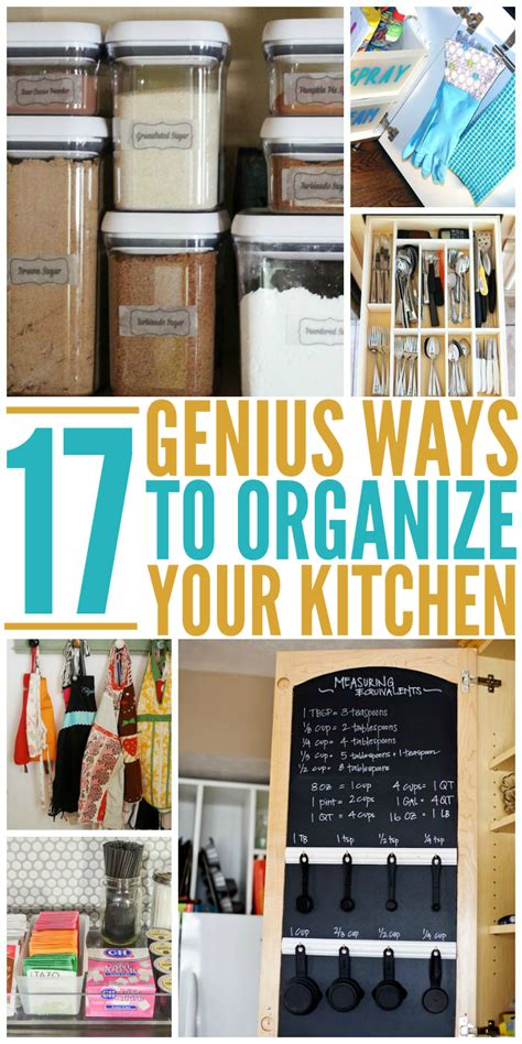 genius tricks show organize kitchen