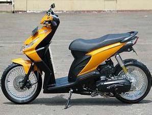 modifikasi minimalis rider honda beat gambar foto