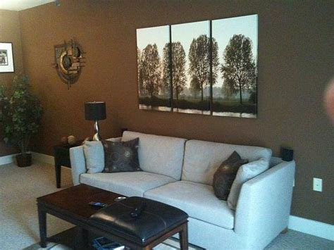 color walls brown furniture colors living room brown