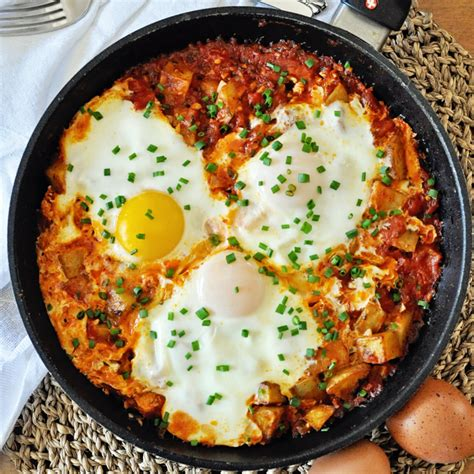 ultimate breakfast skillet roasted potatoes eggs