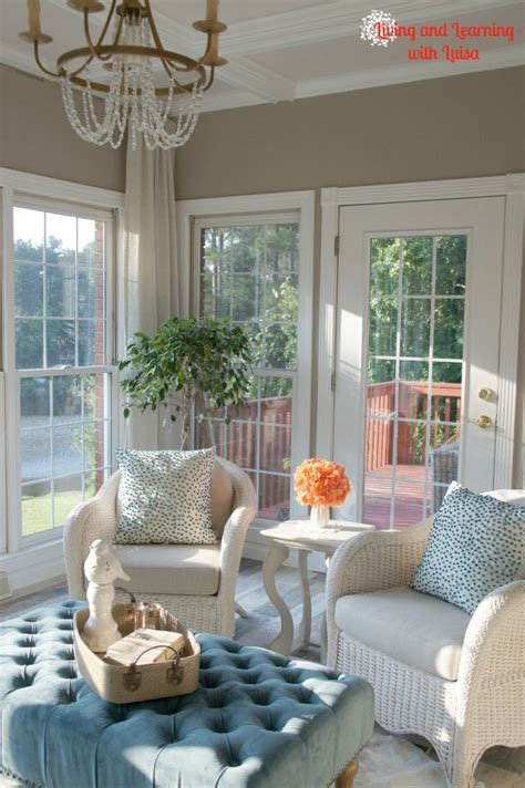 sherwin williams perfect greige sunroom paint color house