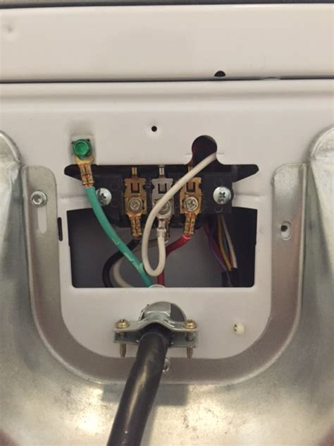 cord plug white wire changing 4 prong 3
