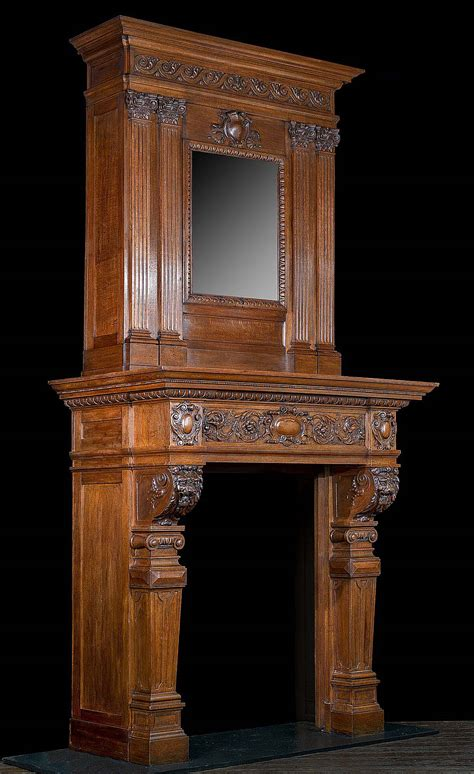 Old Fireplace Mantels Wood