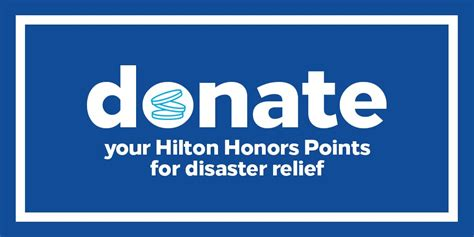 hilton honors twitter donate points charity choice