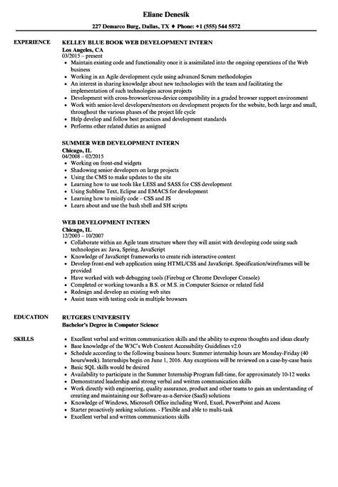 10 put internship resume proposal resume