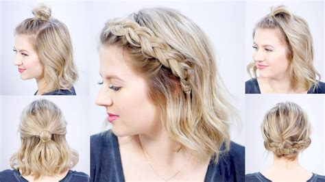 1 minute super easy hairstyles milabu youtube
