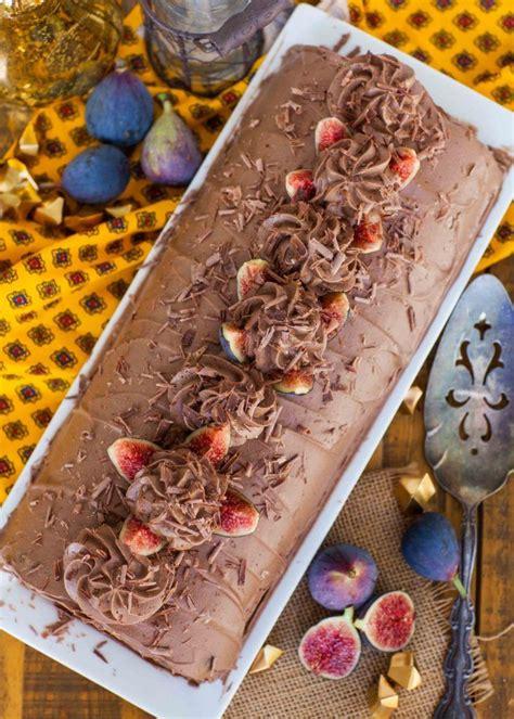 chocolate fig roulade video recipe chocolate roulade tatyana