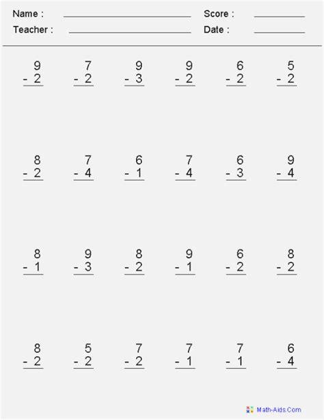 34 tactueux basic math skills test printable kongdian