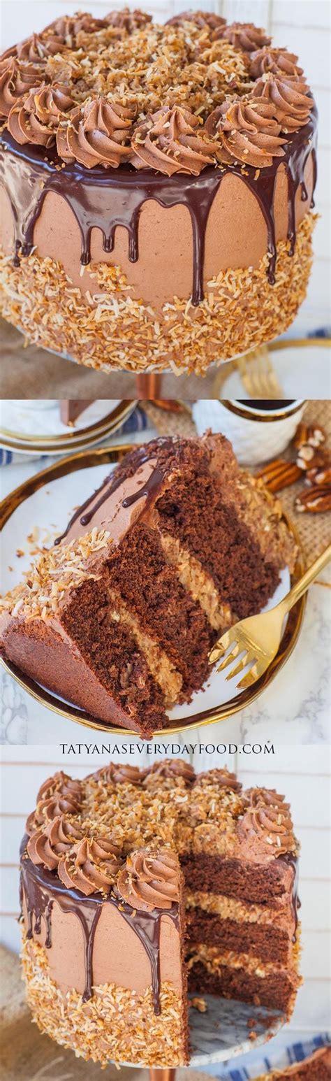 german chocolate cake video recipe tatyana everyday food