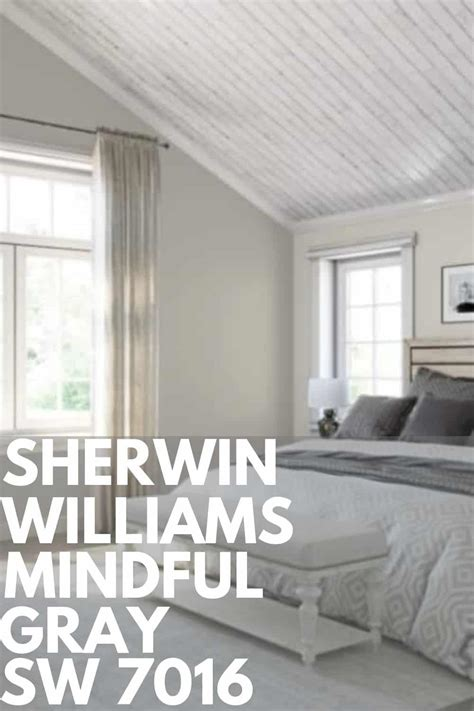 sherwin williams mindful gray sw 7016 west magnolia