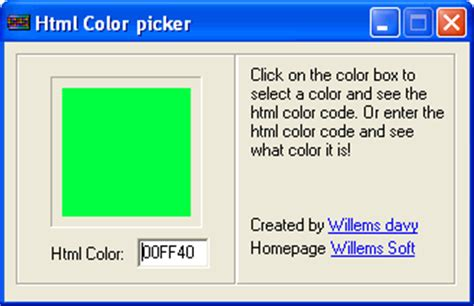 color picker html