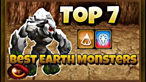 monster legends top 7 earth monsters 2017 youtube