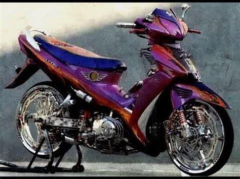 tm2 video modifikasi motor honda supra 125 velg