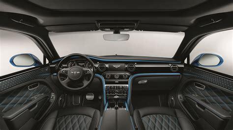 2018 Bentley Mulsanne Speed Design Series Interior Wallpaper