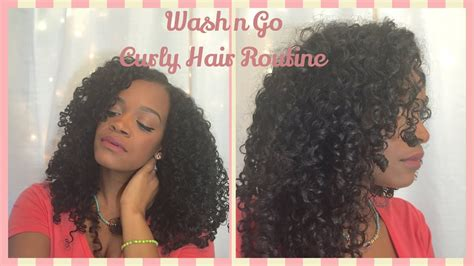 wash curly hair routine 2016 youtube