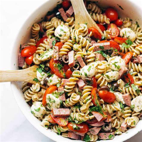 easy italian pasta salad recipe pinch yum