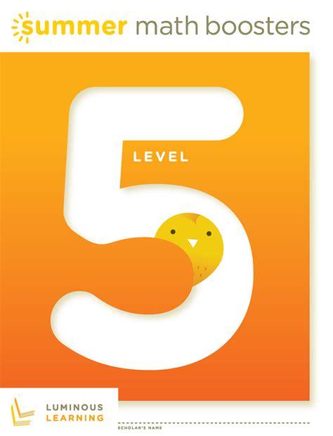 math boosters level 5 learning math workbook math